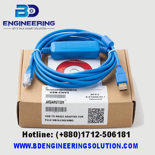 Fuji USB-CNV3 PLC Programming Cable