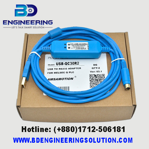 Mitsubishi Q Series PLC Cable