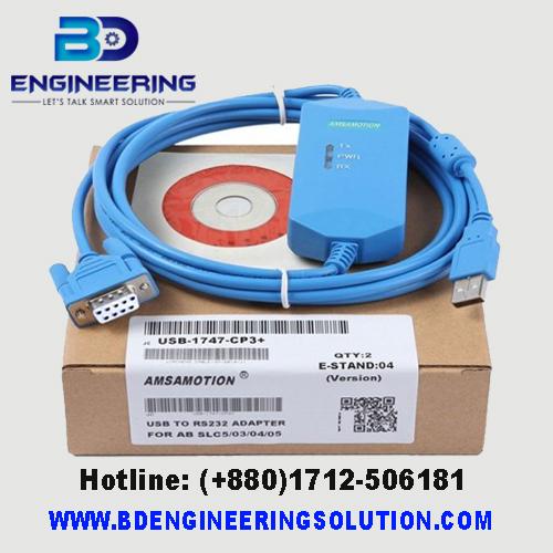 USB-1761-1747-CP3 PLC Programming Cable AB