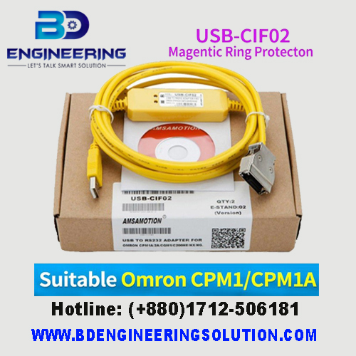 USB-CIF02 PLC Programming Cable