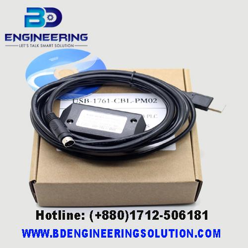 USB-PLC-Programming-Cable-For-A-B-Micrologix-1000-1200-1500-USB-1761-CBL-PM02-10FT Cable Programming PLC