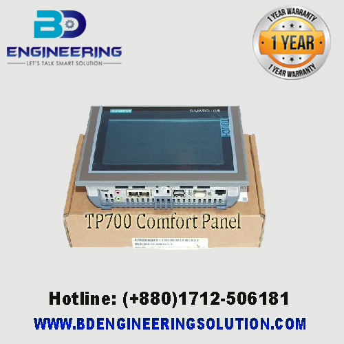 SIMATIC TP700 COMFORT HMI 6AV2 124-0GC01-0AX0