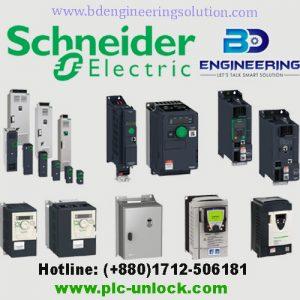 Schneider plc hmi VFD