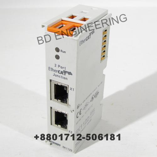 Beckhoff module supplier in Bangladesh EK1122 Junction