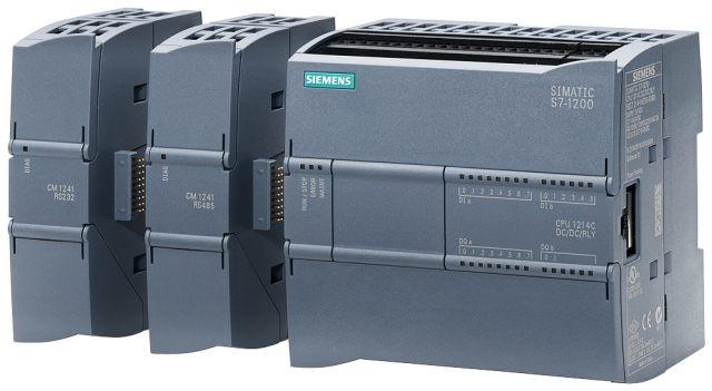 S7-1200 PLC CPU1213, 1214 DC/DC/DC, AC/DC/RLY