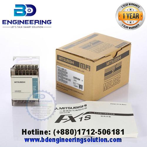 PLC Supplier in Bangladesh, PLC (Programmable Logic Controller), FX1S-14MR-001