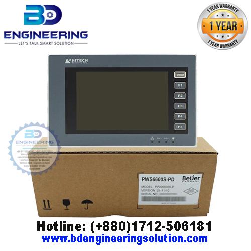 Hitech HMI PWS6600S-PD HMI (Human Machine Interface), HMI Supplier in Bangladesh