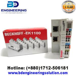 BECKHOFF EtherCAT-Bus- Cupler-EK-1100
