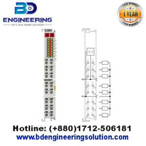 EL2809 HD EtherCAT Terminal, 16-channel digital output24 V DC, 0.5 A