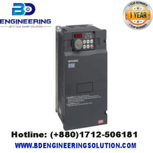 FR-F740-00470-EC- Mitsubishi Inverter Drive, 3-Phase In, 0.5 → 400Hz.