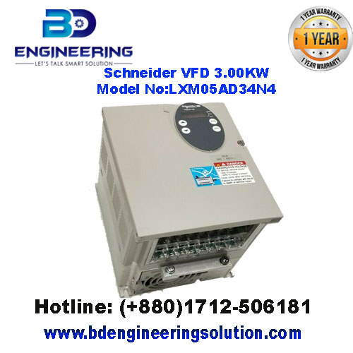 Schneider-VFD-3.00KW-LXM05AD34N4