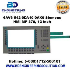 6AV6 542-0DA10-0AX0 Siemens HMI MP 370, 12 Inch