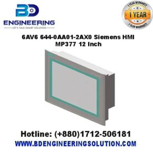 6AV6 644-0AA01-2AX0 Siemens HMI MP377 12 Inch