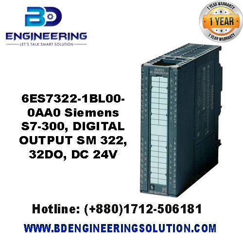 6ES7 322-1BL00-0AA0 Siemens S7-300, DIGITAL OUTPUT SM 322, 32DO, DC 24V