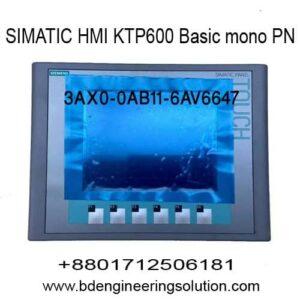 KTP600 SIMATIC HMI BASIC MONO PN 6AV6 647-0AB11-3AX0
