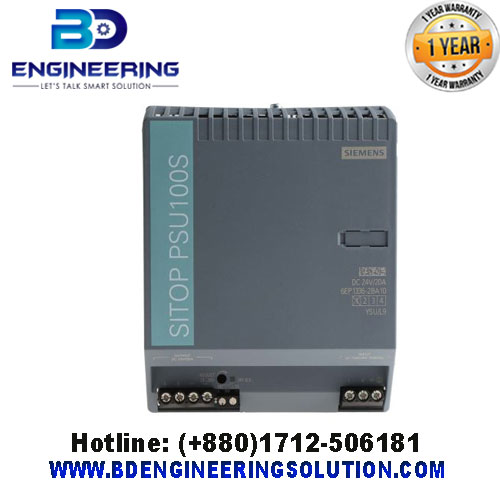 6EP1336-2BA10 Siemens SITOP PSU100S, DIN Rail Panel Mount Power Supply