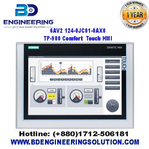 Siemens-TP900-Comfort-6AV2-124-0JC01-0AX0-SIMATIC-HMI