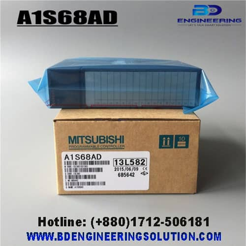 A1S68AD Mitsubishi Analog-Digital Converter-Module