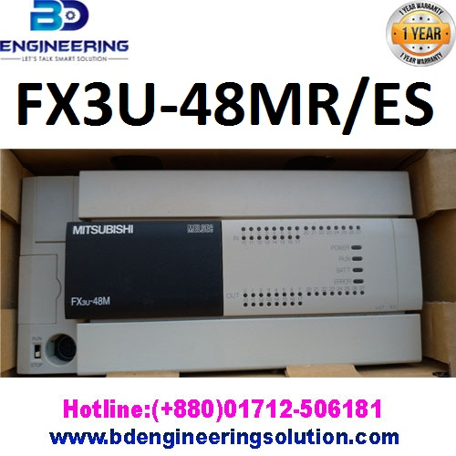 Mitsubishi PLC FX3U-48MR/ES