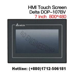 Delta HMI Touch Screen, DOP-107BV DOP-107BV, Input : DC +24V