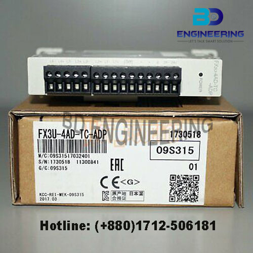 FX3U-4AD-PT-ADP Mitsubishi PLC I/O Module special price