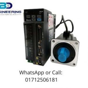 Delta AC Servo Motor and Driver ASD-B2-0421-B + ECMA-C20604RS