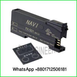 Panasonic Digital Fiber Amplifier Sensor Model-FX-501, 24VDC