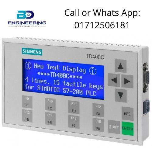 Siemens TD400C 6AV6 640 0AA00 0AX1