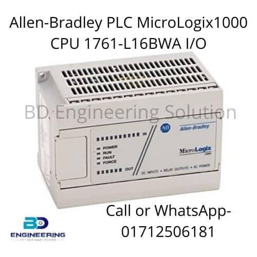 Allen-Bradley PLC MicroLogix1000 CPU 1761-L16BWA I/O