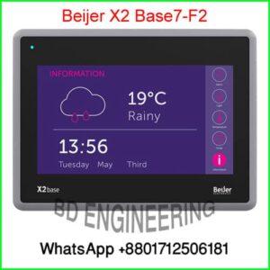 X2 base 7 HMI panels