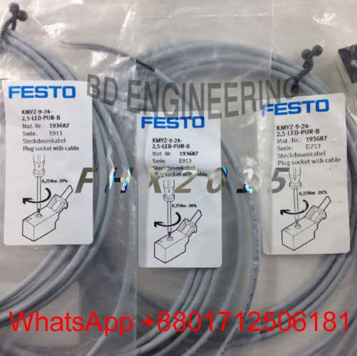 KMYZ-9-24-2 5-led-pur-b Festo Cylinder