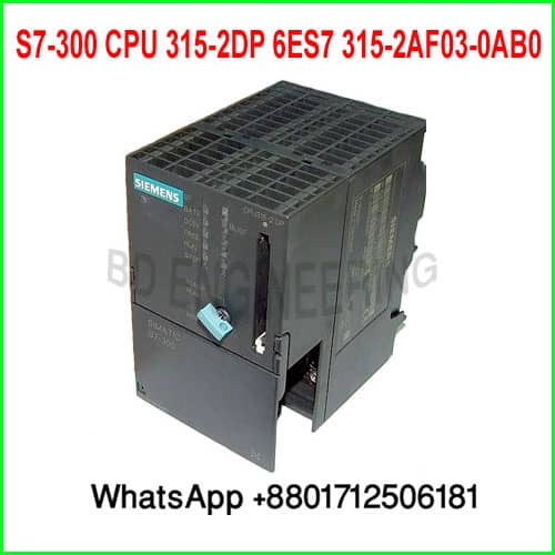 Siemens S7-300 CPU 315-2DP