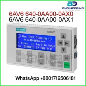 6AV6-640-0AA00-0AX1 TD Display Siemens