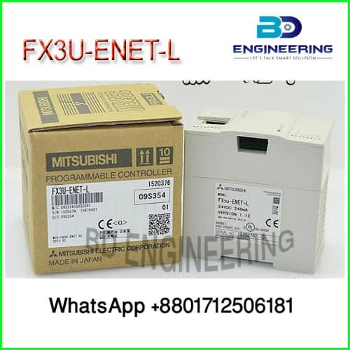 Mitsubishi Ethernet interface block FX3U-ENET-L