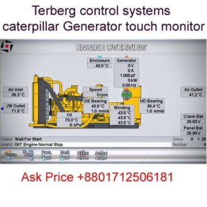 Terberg control systems caterpillar Generator touch monitor