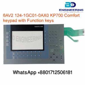 6AV21241GC010AX0 KP700 Comfort keypad with Function keys