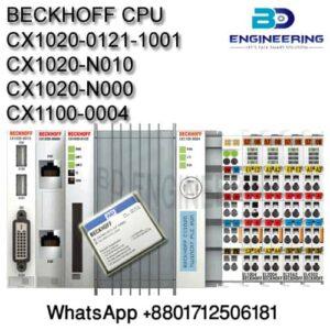 BECKHOFF CPU CX1020-0121-1001; With Communication Module CX1020-N010; CX1020-N000; CX1100-0004